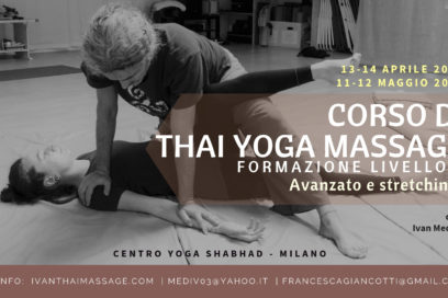 Corso Thai Yoga Massage